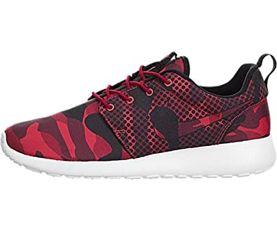 Amazon.com | Nike Nike 655206-606: Roshe One Print Red/Black Fashion Casual  Running Men Size (US Men 13) | Fashion Sneakers