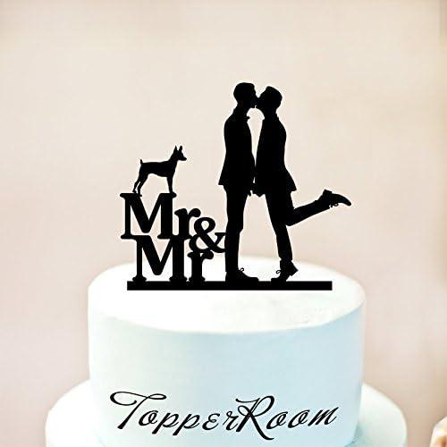 decoraci/ón gay decoraci/ón de tartas decoraci/ón para tarta de boda homosexual decoraci/ón para bodas Decoraci/ón para tarta con texto en ingl/ésMr and Mr
