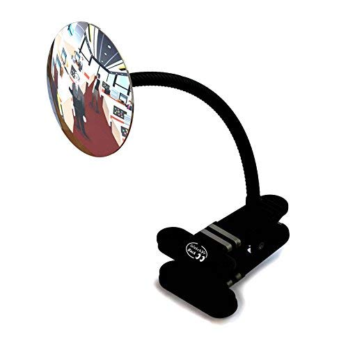Watch Your Back Desk Mirror to See Behind You, Clear Crisp Beautiful -