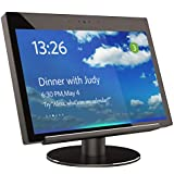 Echo Show Stand 2nd Generation,Aluminum Stand for Amazon Echo Show 2nd Horizontal 360 Rotation Tilt Stand with Precision Bearing Black