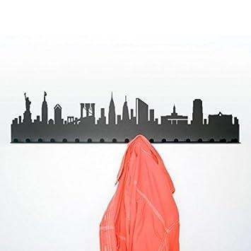 Radius Perchero Ciudad - New York Gris Oscuro/Acero ...