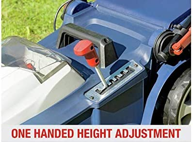 S /& J Spear /& Jackson 42cm Cordless Lawnmower with 2 Batteries 40V