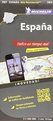 Mapa National España Tráfico en tiempo real (Mapas National Michelin): Vv.Aa., Vv.Aa.: Amazon.es: Belleza