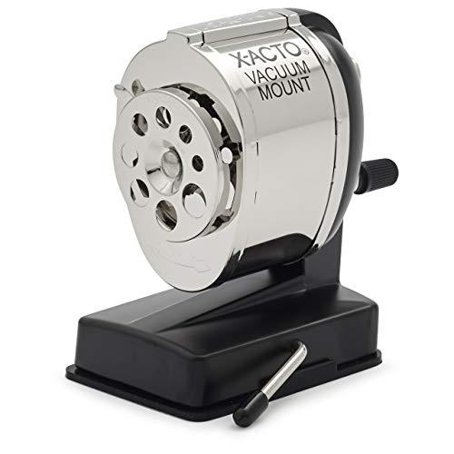 - X-ACTO KS Manual Vacuum Mount Pencil Sharpener (Renewed)