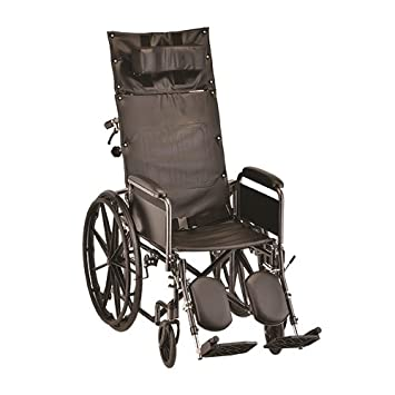 Amazon.com: Nova 6200S 20 inch, reclinable silla de ruedas ...
