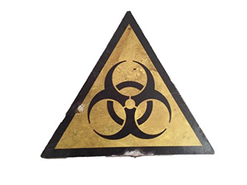[Resident Evil The Final Chapter Biohazard Sign Movie Props] (Biohazard Costumes)