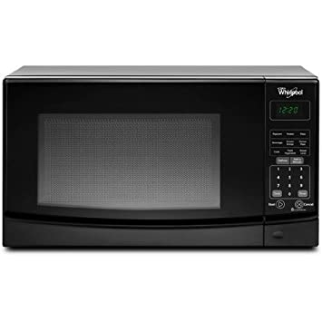 Whirlpool WMC10007AB 0.7 Cu. Ft. Black Countertop Microwave