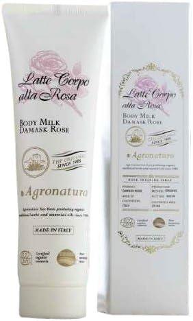 AGRONATURA Body Lotion 150 ml damasco fragancia rosa: Amazon ...