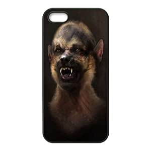 YNACASE(TM) Grimm Custom Cell Phone Case for iPhone 5,5G,5S,DIY Cover Case with Grimm