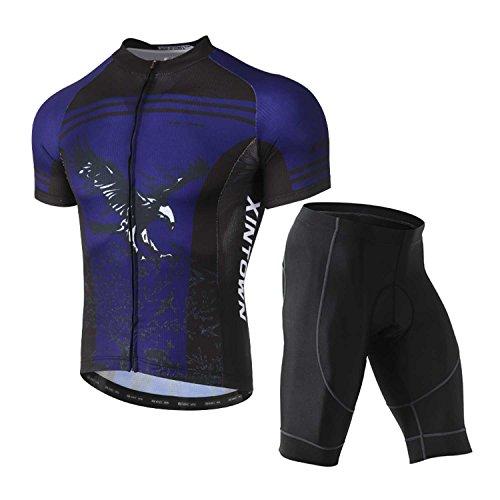 原油散るエンターテインメントS&T サイクリングウエア メンズ 夏 上下セット 通気性が良い 吸汗速乾 高弾力 自転車ウエア 半袖 ショートパンツ サイクルジャージ S/M/L/XL/XXL/XXXL