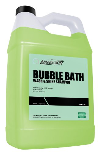 Nanoskin (NA-BUB128) Bubble Bath Car Wash and Shine Shampoo - 1 Gallon