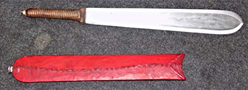 African Handmade Maasai Warrior Tribal Hunting Knife/Sword (SEME)