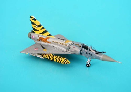 Mirage 2000C France Air Force 12th Fighter Wing first combat squadron Tiger Meet 2007 (1/200 die-cast 6955) Air Force Combat Wing