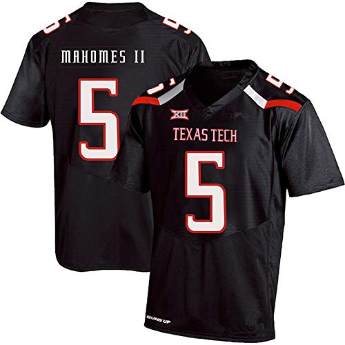 HOOPCITY Patrick_Mahomes_II_Texas_Tech_Black_Jersey