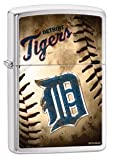 Zippo MLB Detroit Tigers Brushed Chrome Lighter