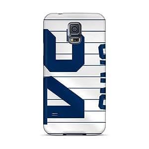 Samsung Galaxy S5 WMs858rFno Customized Beautiful New York Yankees Series Durable Hard Phone Cover -LauraAdamicska