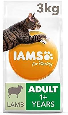 IAMS for Vitality Alimento para Gato Adulto con Cordero [3 kg ...