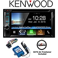 Kenwood DDX6903S DVD Receiver w/ Steering Wheel Controls & Apple CarPlay and a FREE SOTS Air Freshener Included