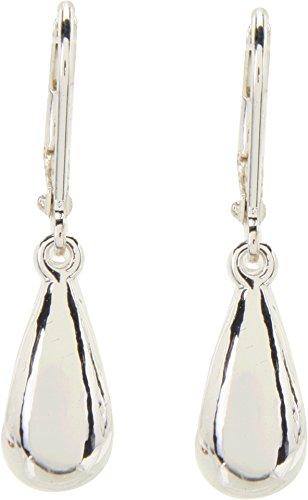 LAUREN Ralph Lauren Women's Teardrop Wire Earrings Silver One - Lauren Silver