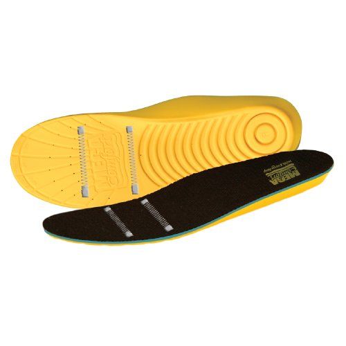 MEGAComfort Personal Anti-Fatigue Mat (ESD) Insoles; Dual Layer 100% Memory Foam with ESD Threads for Anti Static Control, For ESD footwear ONLY, Men
