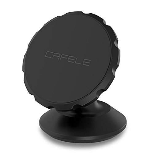 Dashboard Magnetic Car Mount, Phone Holder for iPhone 7 / 7 plus / 6 / 6s / 6 Plus/ 6s Plus, Samsung, LG, Nexus, Moto, HTC, Sony, Other Smart Phones -Black