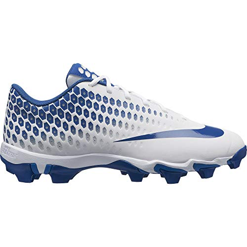 - Nike Men's Vapor Ultrafly 2 Keystone Baseball Cleat (11.5 M US, White/Gym Blue/Military Blue)
