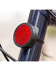 Wolfprint Reflector behuizing voor Apple Airtag | 3M reflector van de hoogste classificatie op 3 locaties/tracking voor fiets, e-bike, scooter enz.