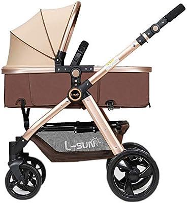 bda0c5025 Cochecito de bebé de Viaje, bidireccional/portátil / Ligero Plegable  Cochecito para niños