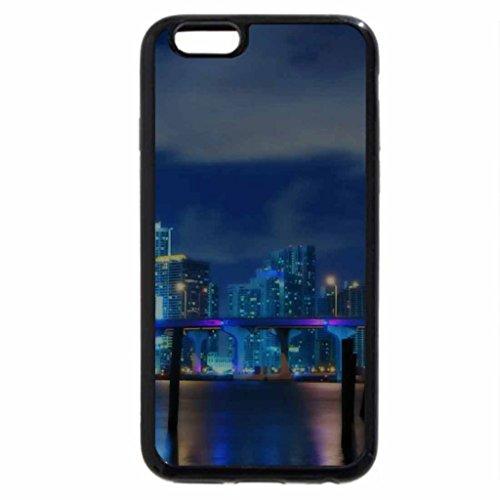 iPhone 6S / iPhone 6 Case (Black) Miami Skyline