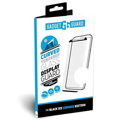 (Gadget Guard - Black Ice Cornice Curved Glass Screen Protector Samsung Galaxy Note 9 - Clear)