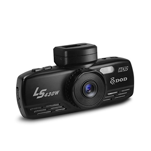 DOD TECH LS430W LS Series, 1080P Dash Camera, 5Hz GPS, Japanese Lens, Large f/1.6 Aperture