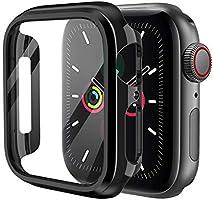 KIMOKU コンパチブル Apple Watch ケース 44mm 40mm PC 保護カバー アップルウォッチ series6/SE/5/4対応(44mm, ゴールド)