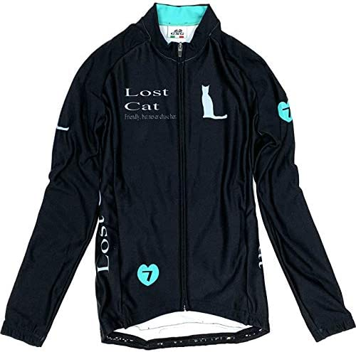 Neo Lost Cat Lady LS Jersey ブラック/チェレステ レディース XS(79W-NLL-LJ-BRXS)