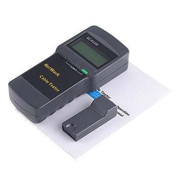 Kingzer multired comprobador de cables para STP/UTP Twin trenzado Cable Coaxial teléfono RJ45