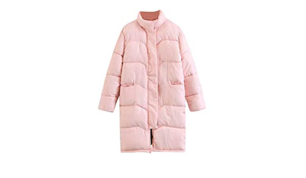Amazon.com: AOJIAN Women Jacket Long Sleeve Outwear Stand Neck Zipper Button Zipper Slim Solid Coat Pink: Clothing