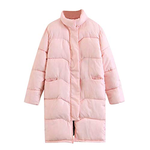 Price comparison product image Women Down Coats Clearance, Sunyastor Winter Warm Coat Stand Neck Thick Slim Parkas Long Jacket Overcoat Popular Outwear