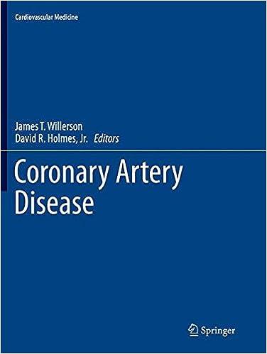 Coronary Artery Disease (Cardiovascular Medicine)