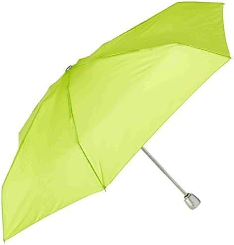 Totes Raines Auto Open/Close Mini Travel Umbrella, 32-Inch Canopy