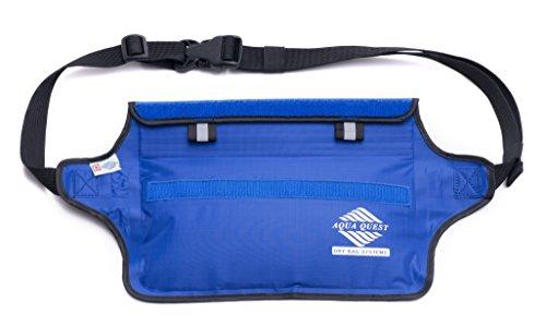 416aXOn9jvL - Aqua Quest AQUAROO Blue Waterproof Running Belt Hidden Wallet for Boating, Kayaking, Biking, Jogging