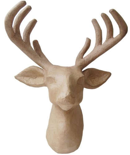(Country Love Crafts Reindeer Head Papier)