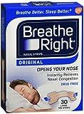 Breathe Right Nasal Strips Original Tan Small/Medium 30 ea (Pack of 4)