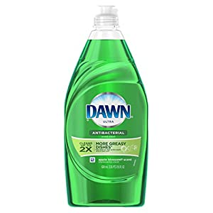 Dawn Ultra Dishwashing Liquid Dish Soap, Antibacterial Apple Blossom, 21.6 oz