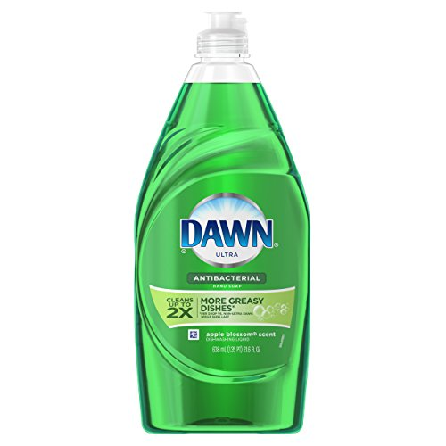 Dawn Ultra Dishwashing Liquid Dish Soap, Antibacterial Apple Blossom, 21.6 (Dawn Liquid Dish Soap)