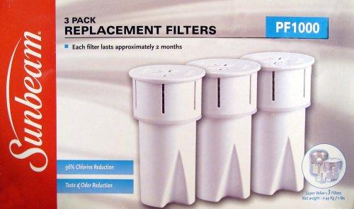 Sunbeam Water - Sunbeam P1000 Replacement Water Filters (3 Pack)