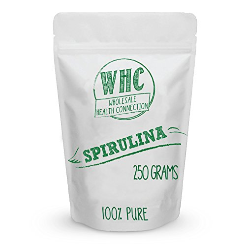 Spirulina Powder 250g (83 Servings) | Super Food | Vegan Protein Source | Vitamin, Minerals, and Carotenoids | Antioxidant | Anti Inflammatory | Helps Protect Heart and Liver