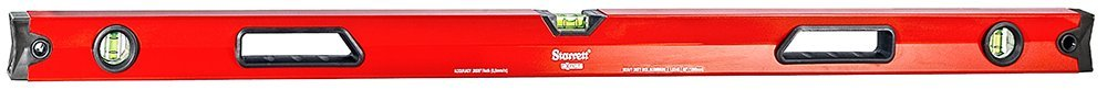 Starrett Exact KLBX48-N Aluminum Box Beam Level with 3 Block Vials, 48'' Length