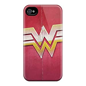 Iphone 4/4s Case Cover Wonder Woman Sign Desktop High Definition Case - Eco-friendly Packaging