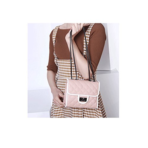 Di Fashion Bag Le Rojo Pink New Dgf Rosa St Handbags De color Great Diagonal Dgf Tracolla colore Modo Shoulder San Nuove Capacidad Diagonale The Borse Gran Bolsos gTzSYxwR