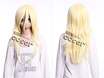 Kawaii-Story W DE 17 DE bc52 Rubio Amarillo Blonde 60 cm Cosplay Peluca Wig