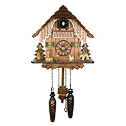 Adolf Herr Quartz Cuckoo Clock - The House in The Black Forest AH 19 QM